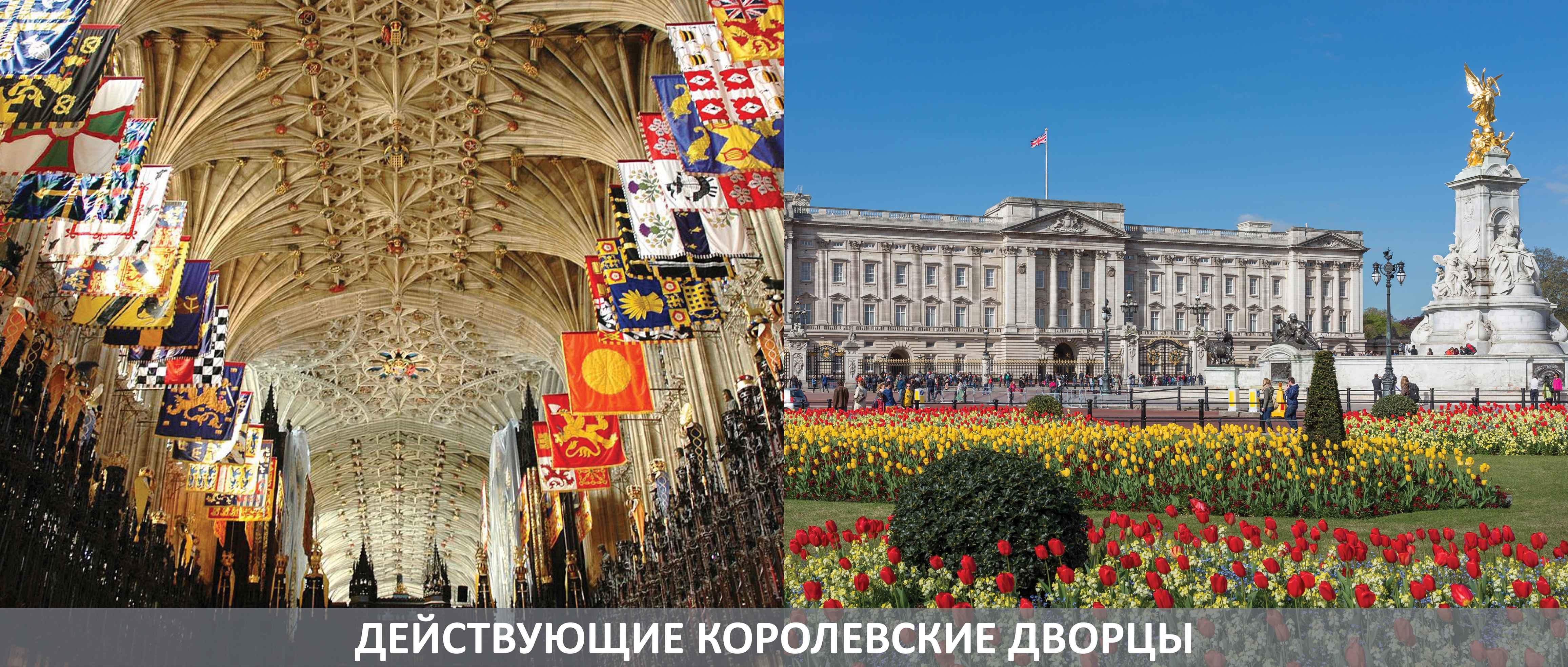 Достопримечательности Лондона : Действующие королевские дворцы