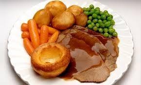 Английский традиционный воскресный обед