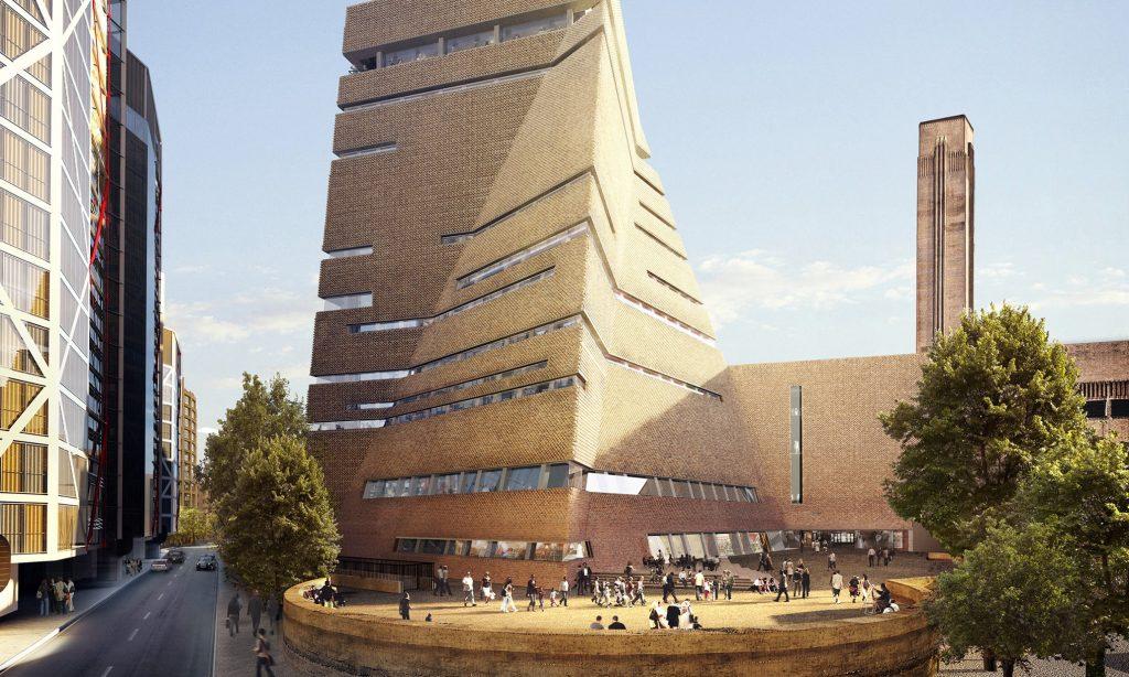 Новое здание галереи Тейт Модерн