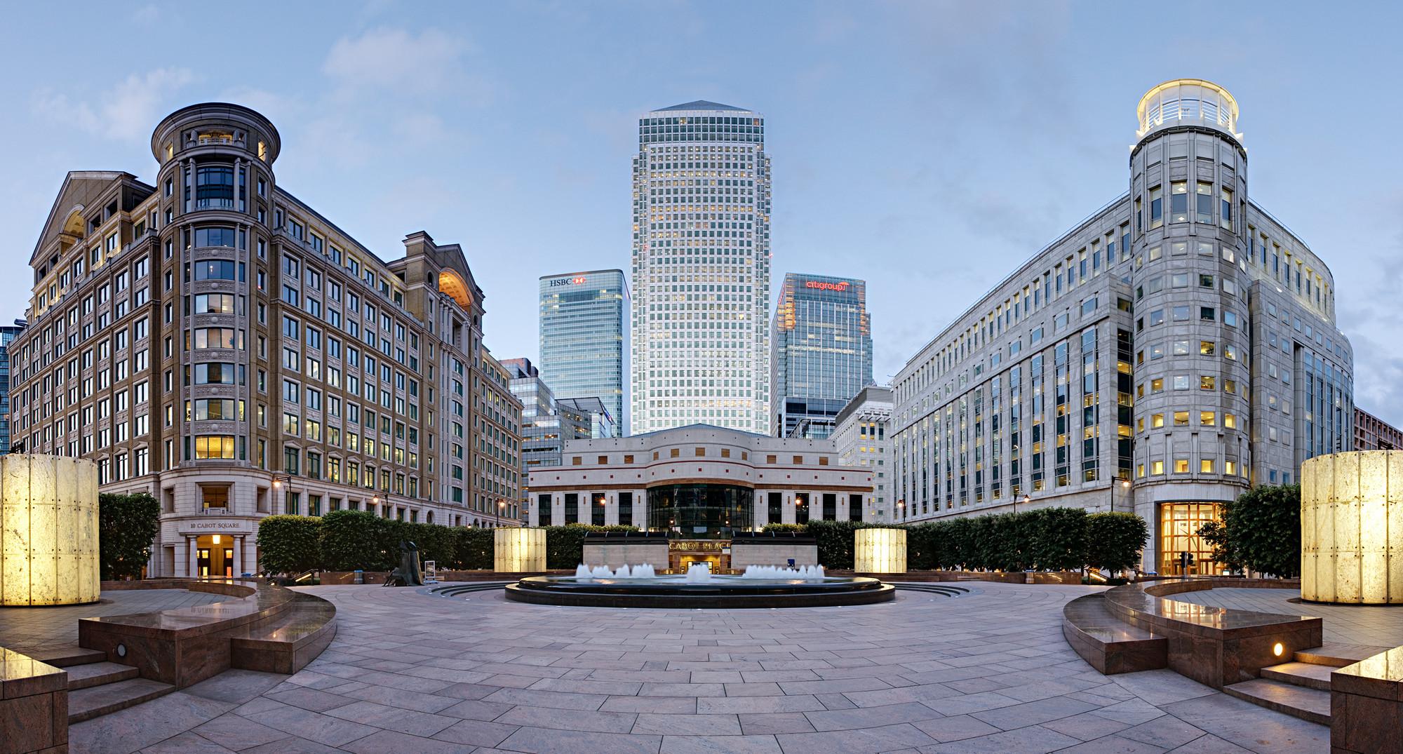 Второй бизнес-центр Лондона после Сити (City) – Канареечная Верфь (Canary Wharf)
