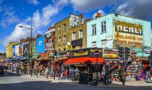 Торговая улица Кэмден Таун. Фото взято с сайта minttwist.com
